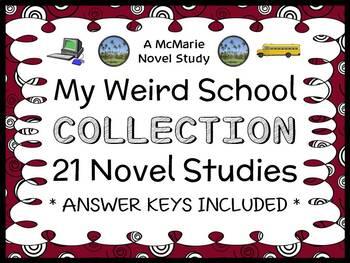 My Weird School COLLECTION (Gutman) 21 Novel Studies / Com