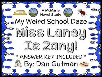 My Weird School Daze: Miss Laney Is Zany! (Gutman) Novel S