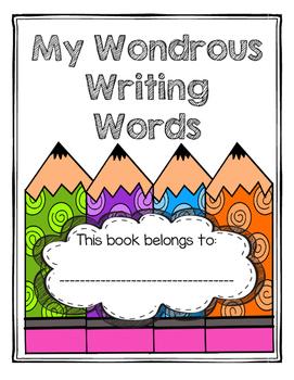 My Wondrous Writing Words