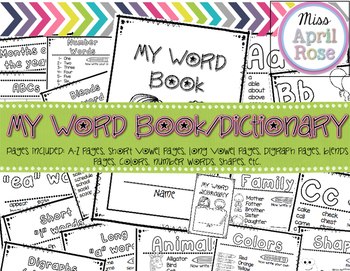 My Word Book / Dictionary