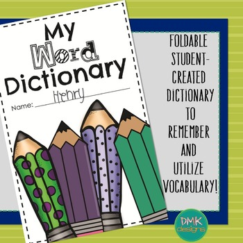 My Word Dictionary- Student Booklet