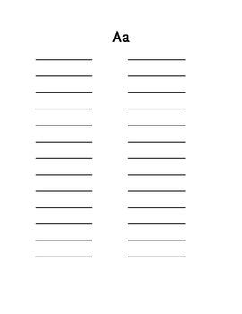 My Word List Journal