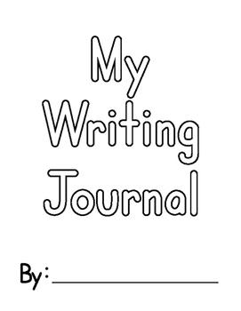 My Writing Journal (Kindergarten)