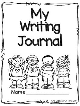 My Writing Journal (Multiple Cover Options)
