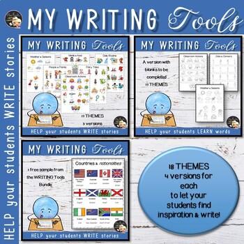My Writing Tools - Growing Bundle