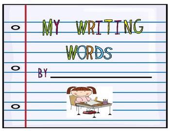 My Writing Words