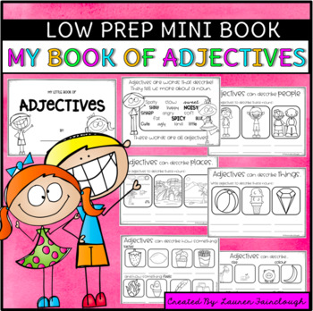 My book of Adjectives