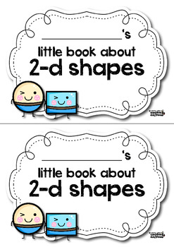 My little book about shapes