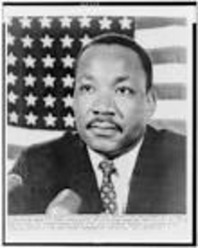 My original rhyming poem about Martin Luther King, Jr.