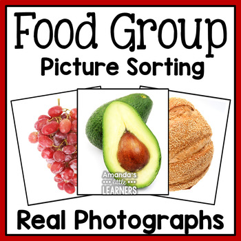 MyPlate Food Group Picture Sort