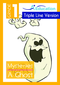 Mysteries - A Ghost (II) - Grade 1 (with 'Triple-Track Wri