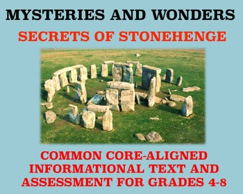 Mysteries and Wonders Passage and Assessment #26: Secrets