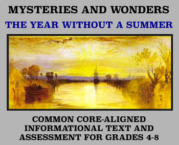 Mysteries and Wonders Passage and Assessment #29: The Year