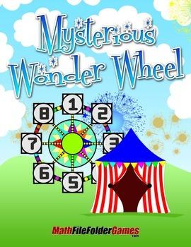Mysterious Wonder Wheel: Addition, Problem Solving
