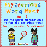Mysterious Word Hunt - Set 1