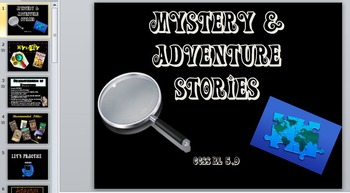 Mystery & Adventure Stories with regards to Theme vs Topic