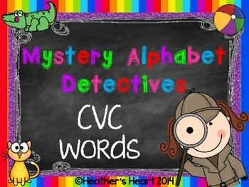 Mystery Alphabet Detectives- CVC Words