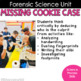 Who Stole the Cookie Mystery (Forensic Science) Simulation