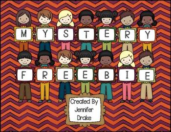 Mystery Freebie!!!!  Every-TURKEY will love this!