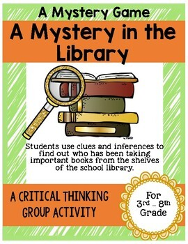 Mystery Game - A Mystery in the Library - Great Ice Breake