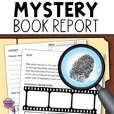 "Mystery Genre Book Report ""Case File""  Project, Rubric, &"