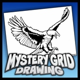 Mystery Grid Drawing - Soaring Eagle