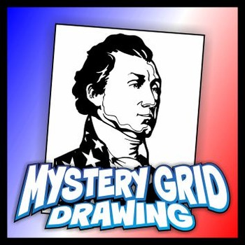 Mystery Grid Drawing President 05 James Monroe
