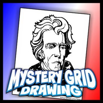 Mystery Grid Drawing President 07 Andrew Jackson