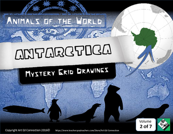 Mystery Grid Drawings: Animals of the World ANTARCTICA! Pr