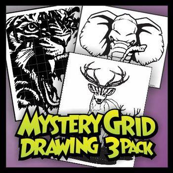 Mystery Grid Three-Pack 07 Wild Animals