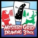 Mystery Grid Three-Pack 12 - Christmas