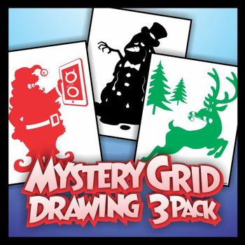 Mystery Grid Three-Pack 12 - Christmas