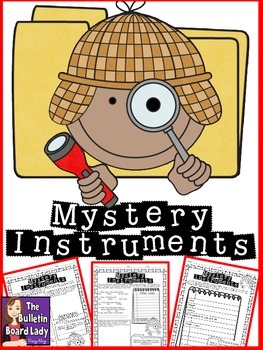 Mystery Instruments-Music Workstation/Center to Identify I