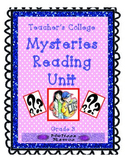 Teacher's College Mystery Reading Unit Supplements for Grade 3