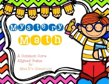 Mystery Math: A Common Core Aligned Game
