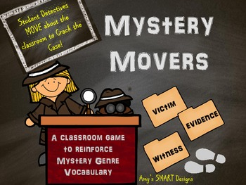 Mystery Movers Classroom Game