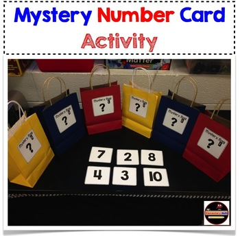 Mystery Number Activity