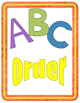 Mystery Picture ABC Order Game-Letters A and B