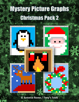 Mystery Picture Graphs - Christmas Pack 2