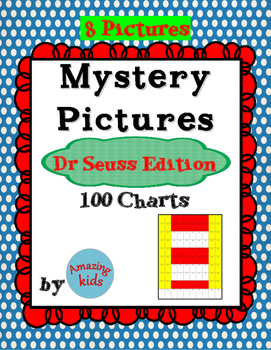 Mystery Pictures – Dr Seuss Edition