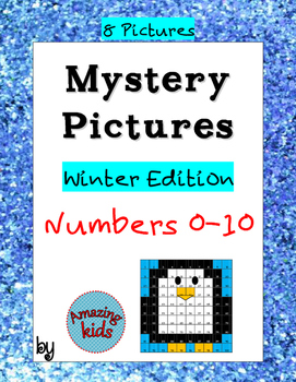 Mystery Pictures Numbers 0-10 – Winter Edition