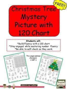 December Mystery Picture on a 120 Chart