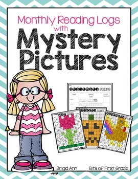 Mystery Pictures with Reading Logs