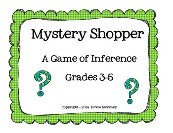 Mystery Shopper Inferencing Game