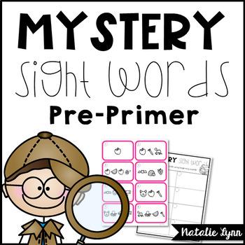 Mystery Sight Words Preprimer