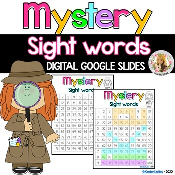 Mystery Sight Words (math and reading)