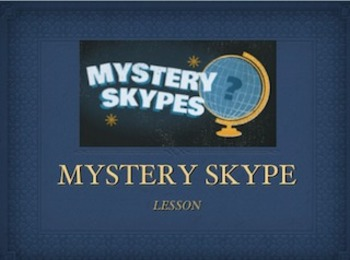 Mystery Skype Powerpoint Lesson Introduction
