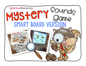 Mystery Sound Game Smart Board / Printable Version