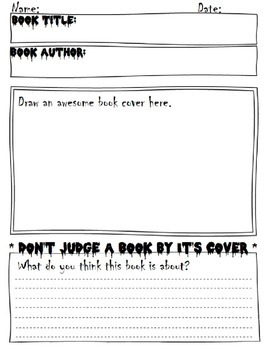 Mystery, Thriller & Suspense Chapter Book Review Forms
