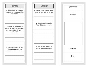 Mystery genre trifold